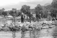 Rand'eau Ancilevienne 2020_ parcours incomplet... mais des rameurs vaillants